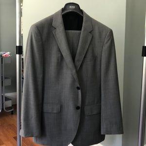 BOSS Light Grey 2B suit